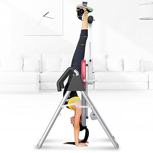 Ainfox Duty Inversion Table, Therapy Height and Equipment Pain