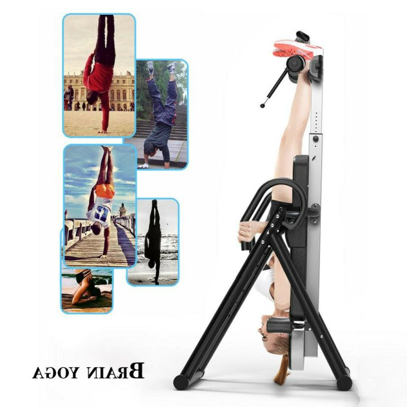 Heavy Inversion Table Back Fitness Exercise Adjustable