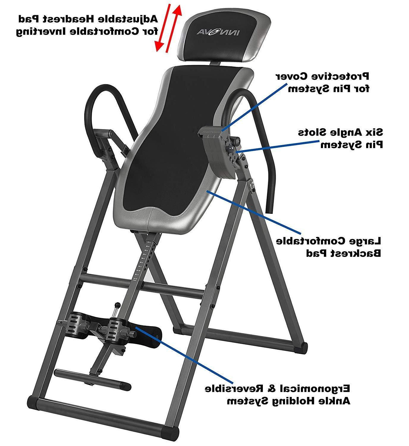 Innova Inversion Table-Exercise,Sports,Fitness,Training,Therapy, Pain