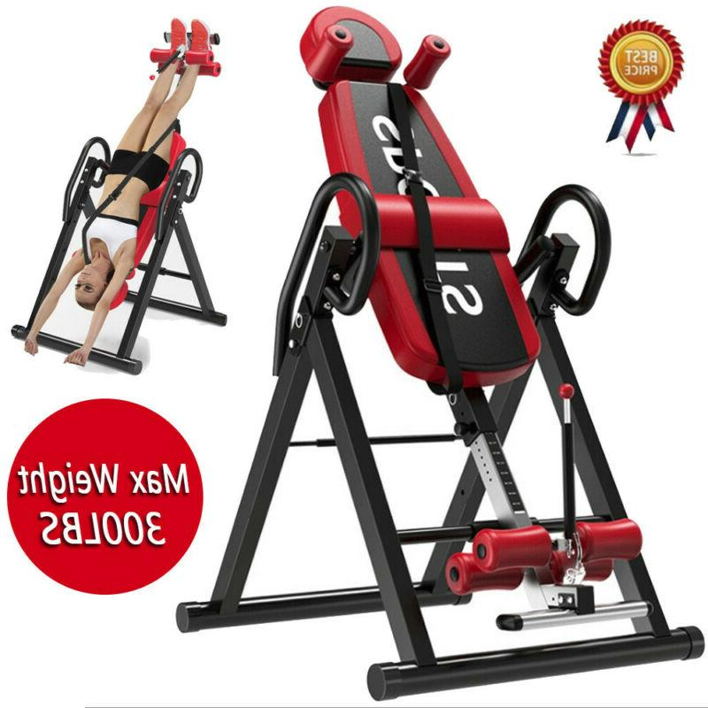 heavy duty inversion table fitness adjustable pain