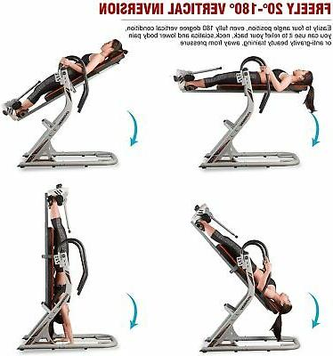 HARISON Heavy Duty Inversion Table For Back Relief With