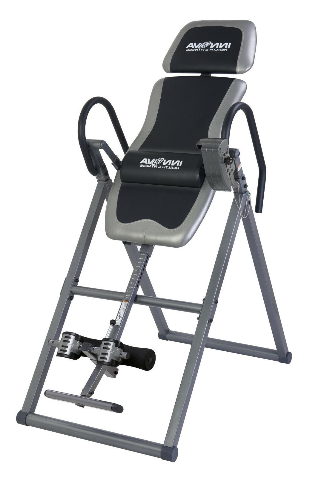 heavy duty inversion table for lumbar spine