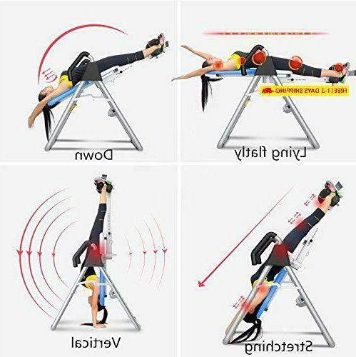 Ainfox Inversion Table, Therapy System Height And