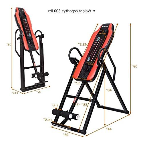 Goplus Heavy Duty Table Massage and Heat Back Stretching Support Up Lbs