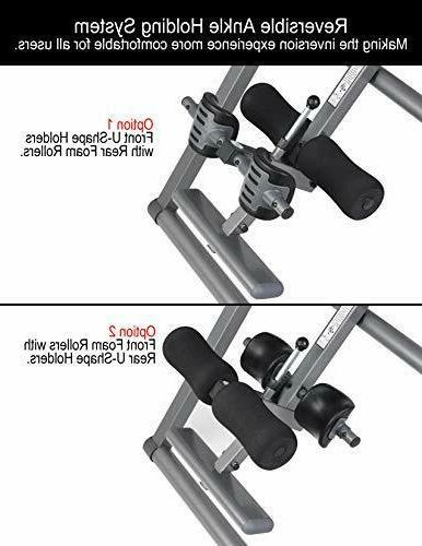 Innova Heavy Duty Inversion Table Headrest and Protective Cover