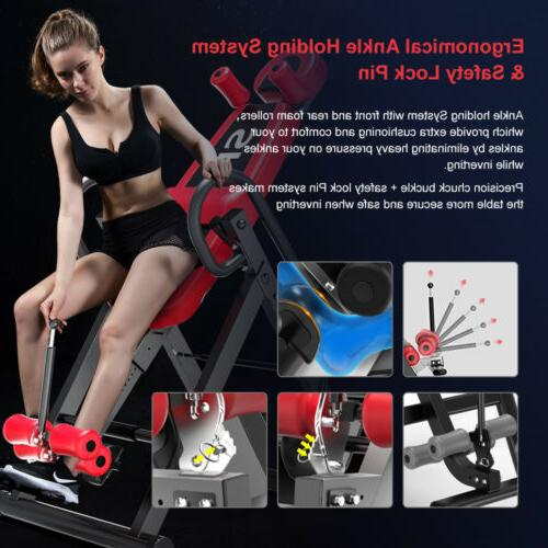 Inversion Table Pro Deluxe Back