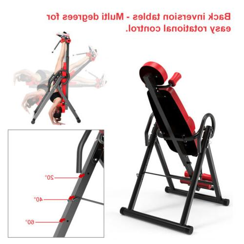 Inversion Fitness Exercise Back