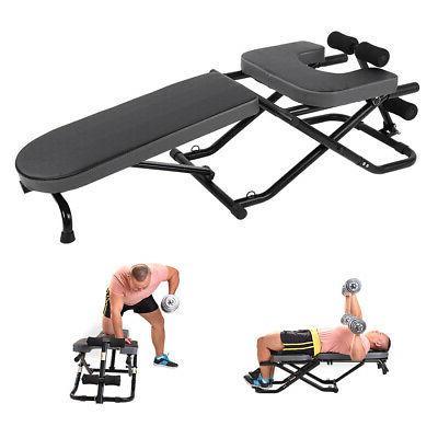 Multifunction Sit-ups Abdominal Inversion Table Home Gym Str