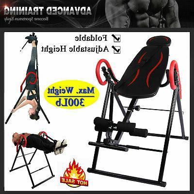 home inversion table teeter fitness back therapy