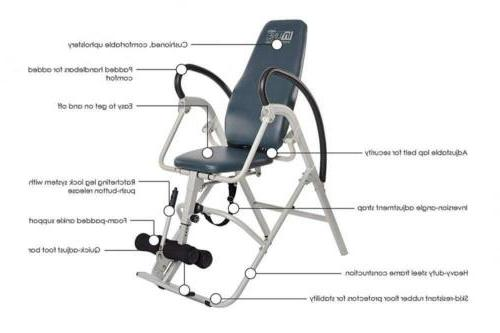 Stamina InLine INVERSION TABLE Therapy Back Relief Bench