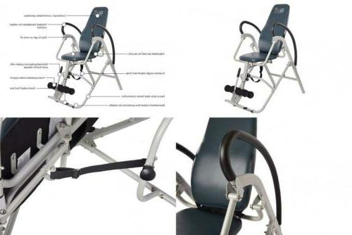 inline inversion chair table gravity therapy back