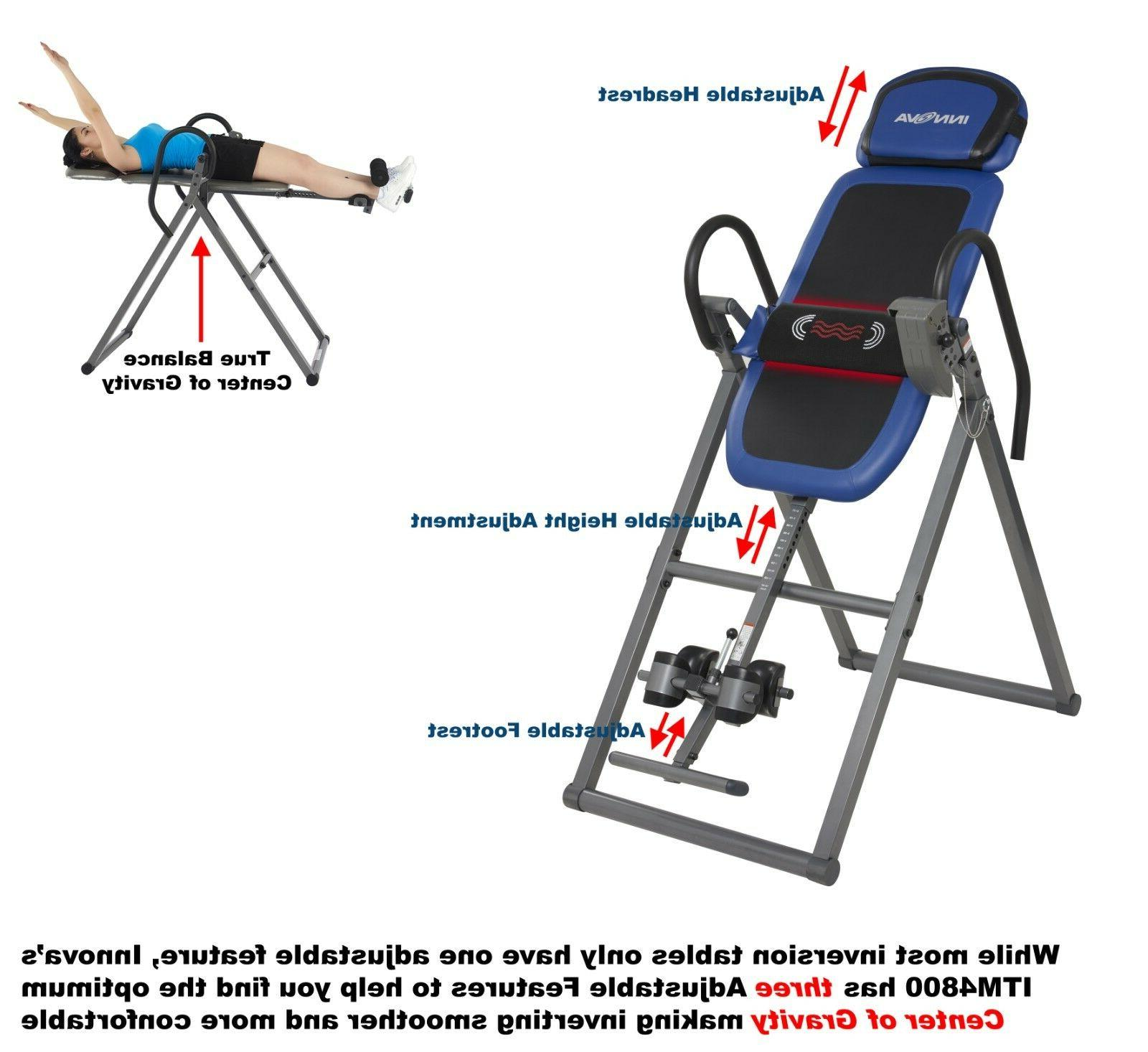 Innova ITM4800 Advanced and Massage Inversion Therapy Table