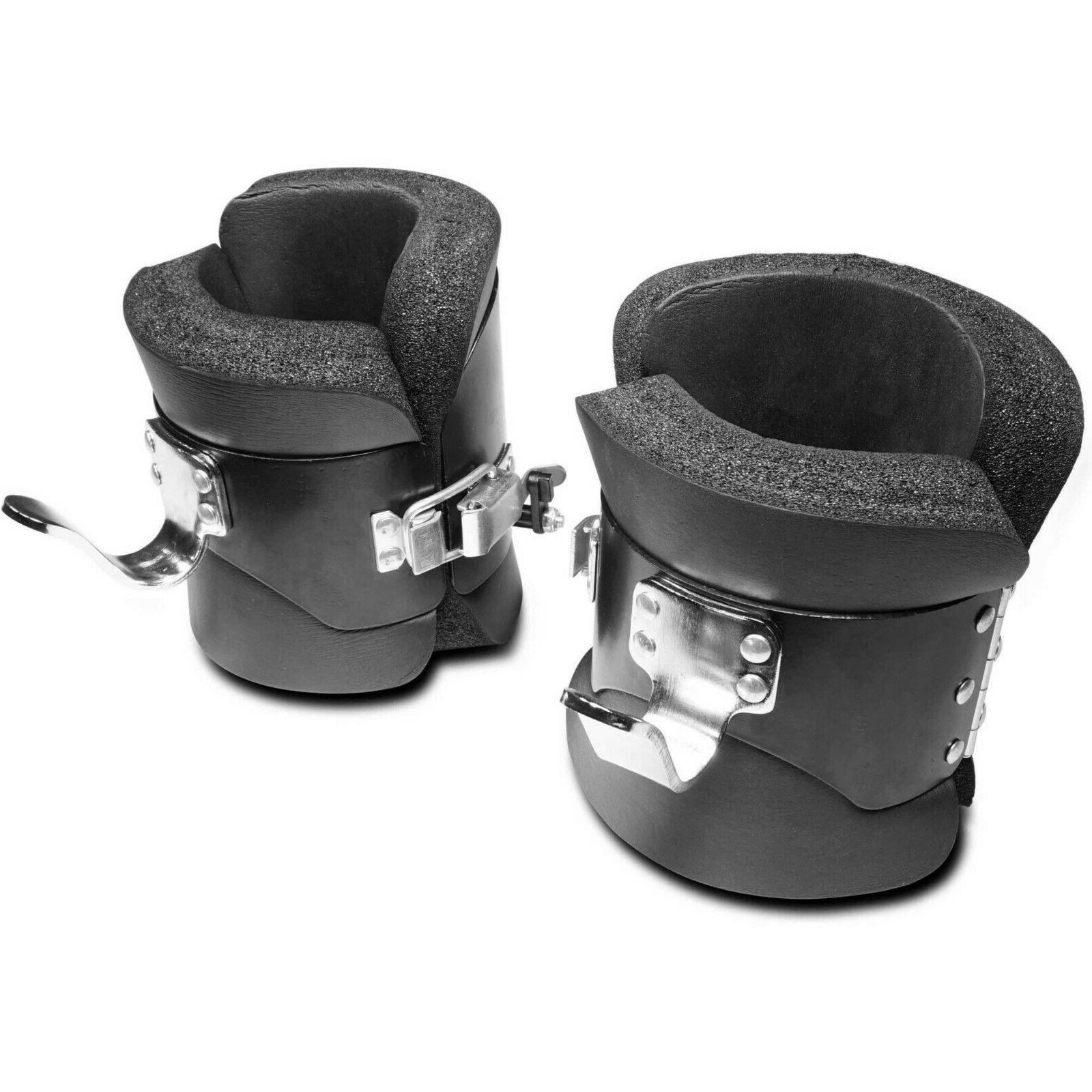 inversion boots comfortable padded anti gravity therapy