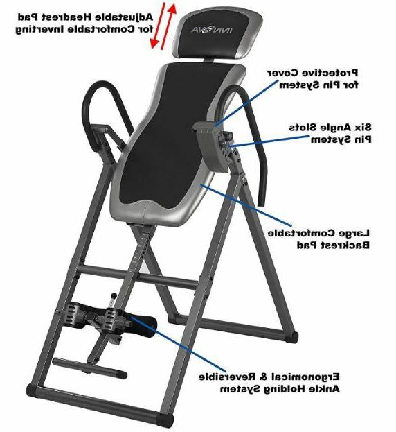 Inversion Table Back Therapy Teeter Hang