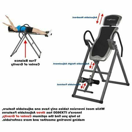 Inversion Table Back Pain Therapy Adjustable Medical Mobilit