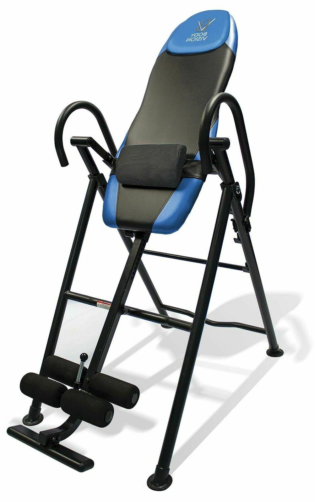 inversion table back pain therapy heavy duty