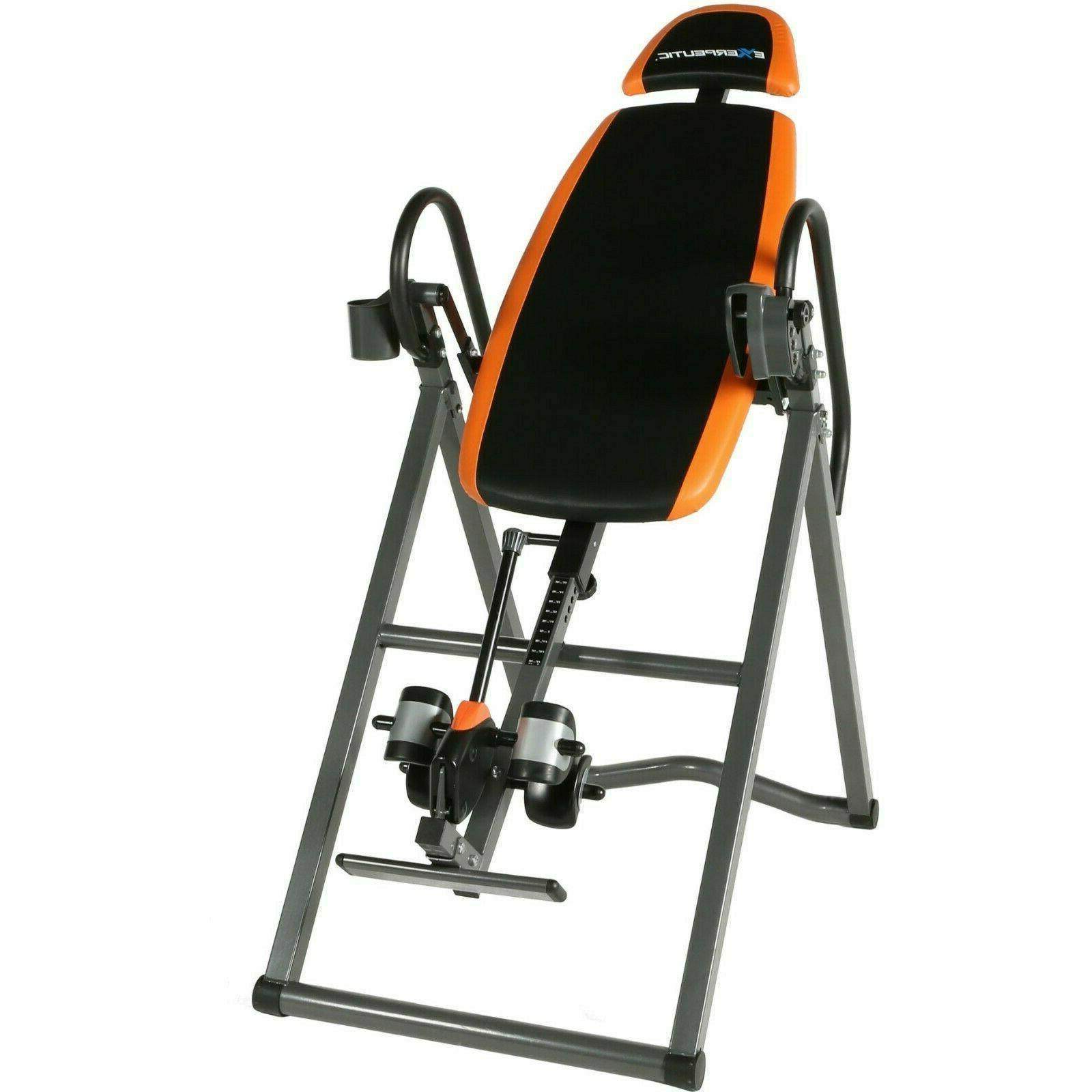 Inversion Table Fitness Pain Hang Gravity Relief