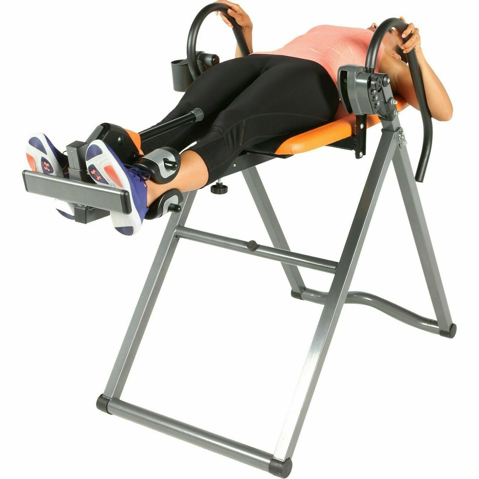Inversion Table Therapy Fitness Relief Heavy Duty