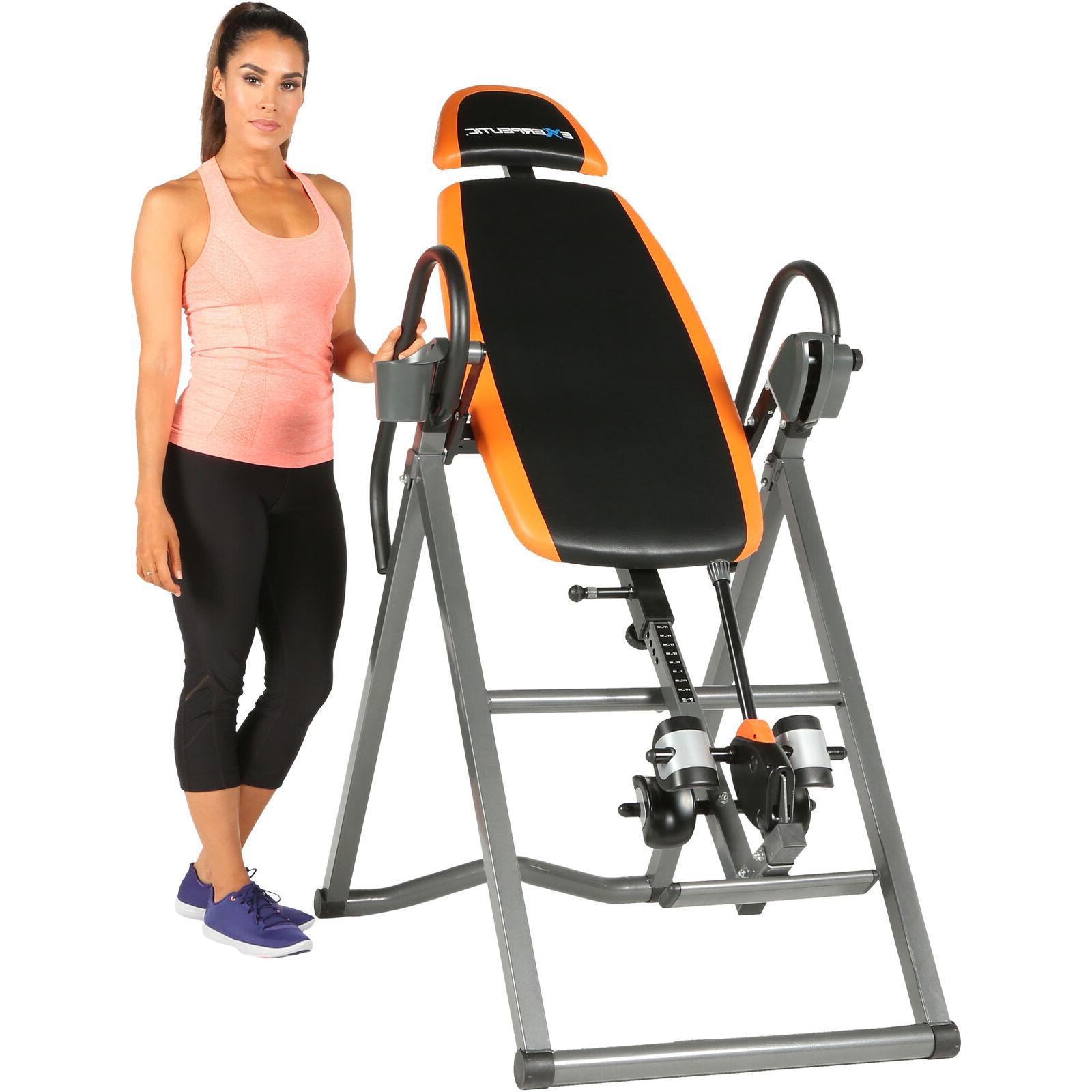 Inversion Table Exerpeutic UltraSafe SURELOCK Ratchet Ankle