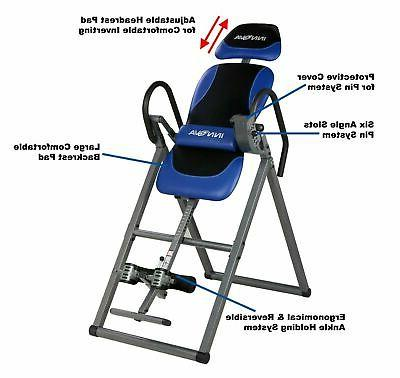 Inversion Table Therapy Fitness Pain Hang Relief Heavy |New|