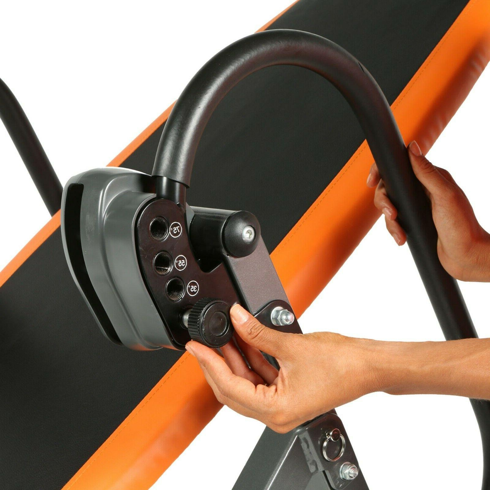 Inversion Back Therapy Fitness Hang Relief New