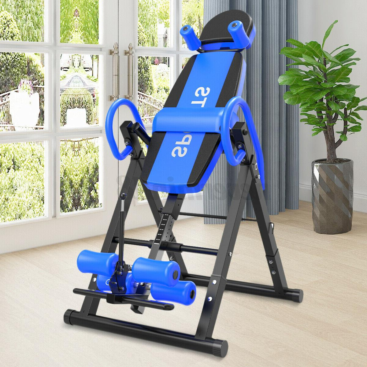 inversion table back therapy hang gravity pain