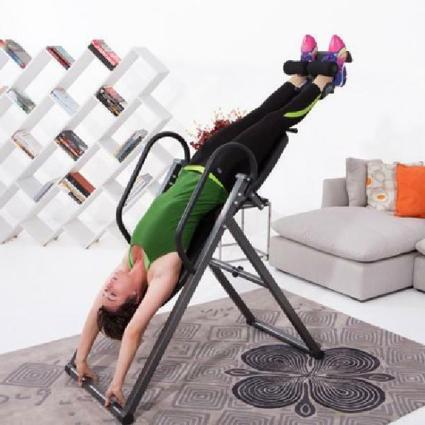 Fitness Reality Inversion Table Body Capacity Additional Pillow