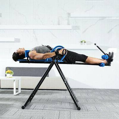 Inversion Table Chiropractic Stretcher Heavy Reflexology US