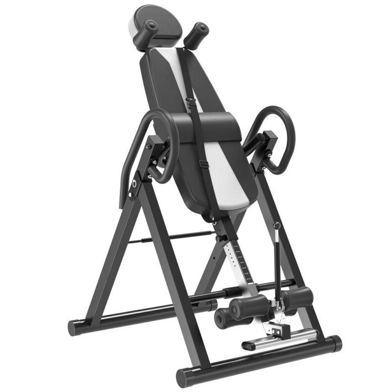 Heavy Duty Inversion Table -300LBs- With Adjustable Head Pil