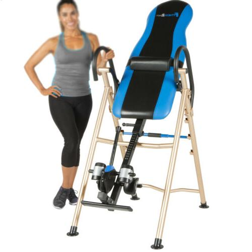 INVERSION TABLE FOLDABLE Hanging Up Therapy Heavy Duty Fitne