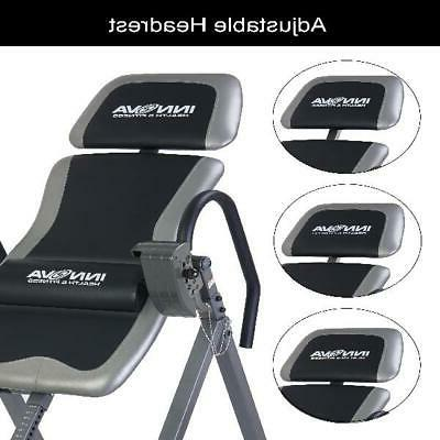 Inversion Table Therapy, Heavy Duty Adjustable Stretcher, Pain Relief
