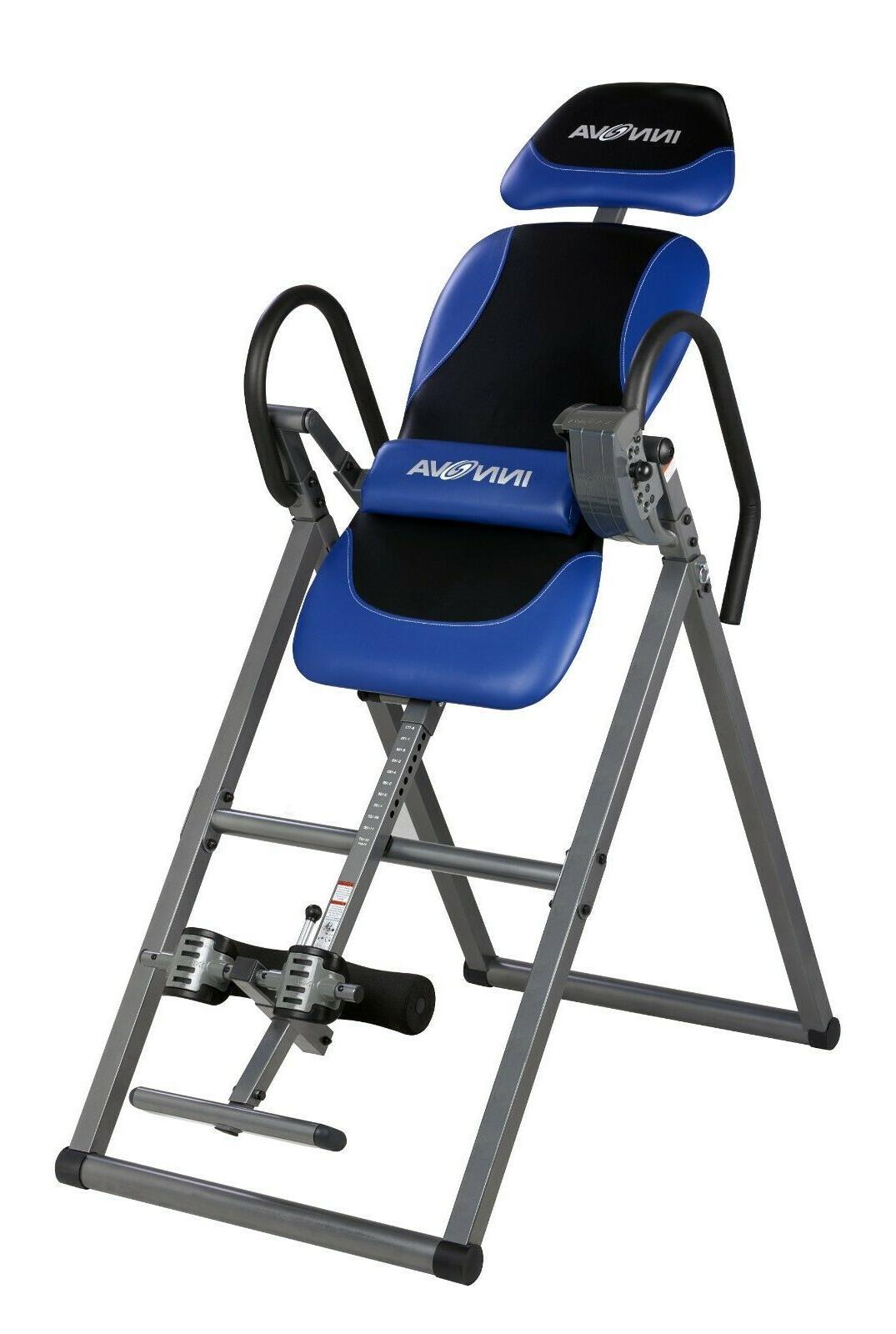 Innova 6 Position Inversion Table Comfortable Lumbar Spine S