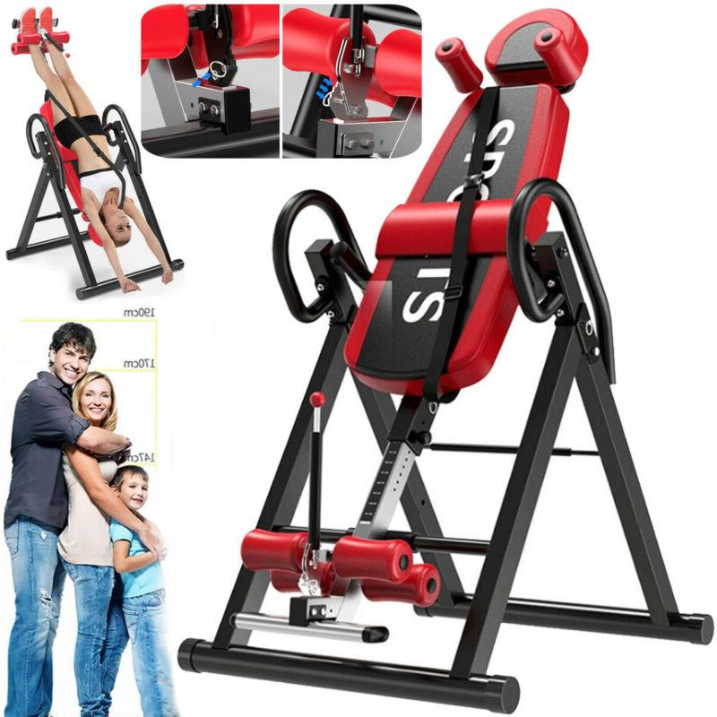 inversion table fitness chiropractic back stretcher heavy