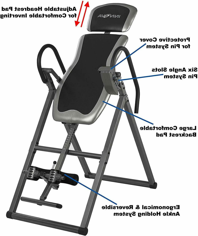 inversion table heavy duty 300lb max home