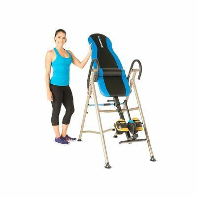 inversion table with airsoft no pinch ankle