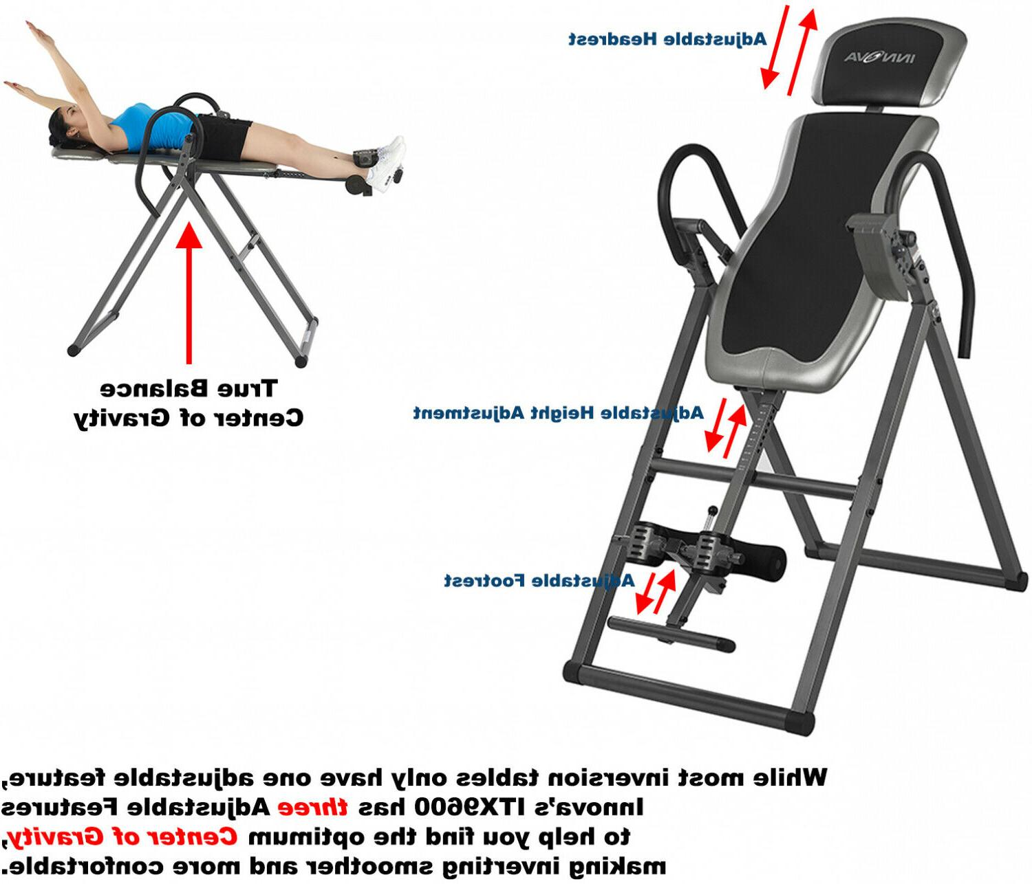 Inversion Tables For Back Pain Gravity Therapy Large Heavy