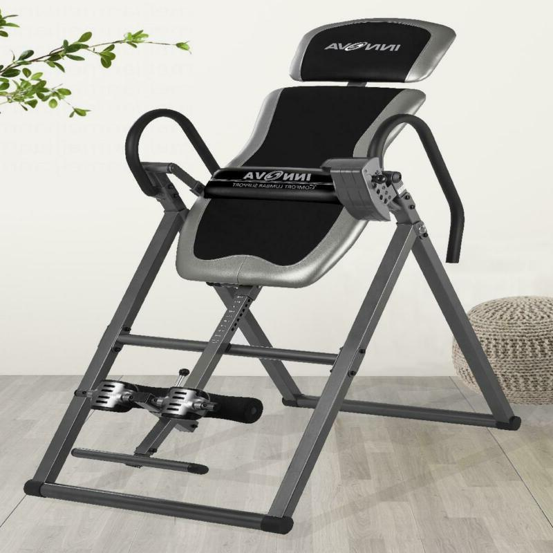 Inversion Table Heavy For Support Back Pain Relief New