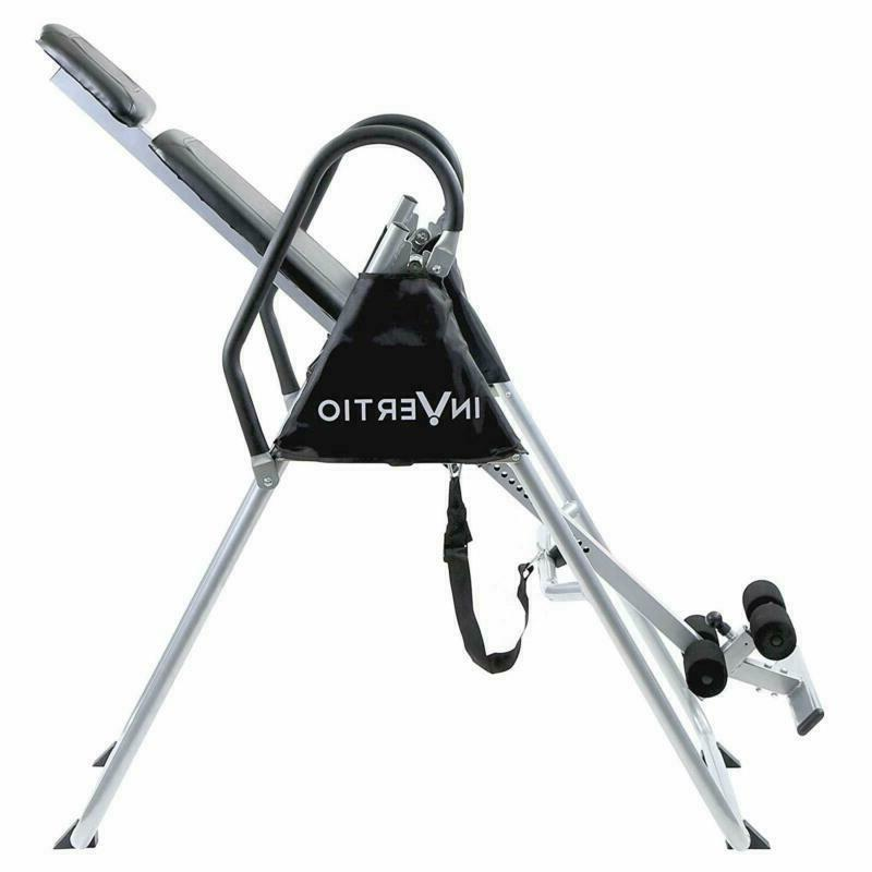 Invertio Inversion Table Back Pain Relief