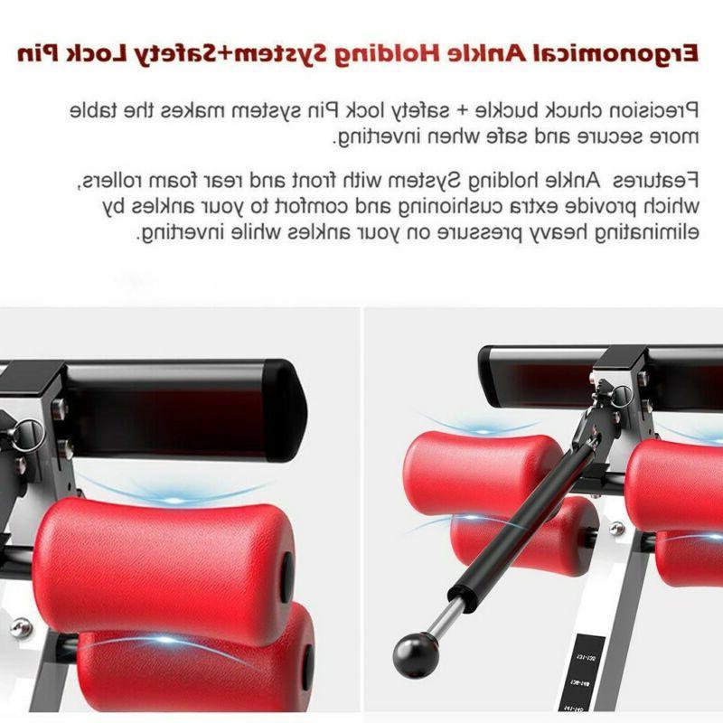 Premium Inversion Table Fitness Reflexology Pad U