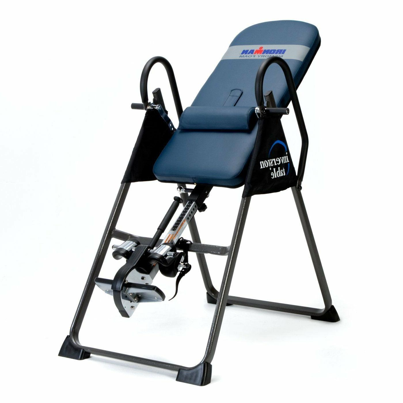 ironman gravity 5402 4000 inversion table fitness