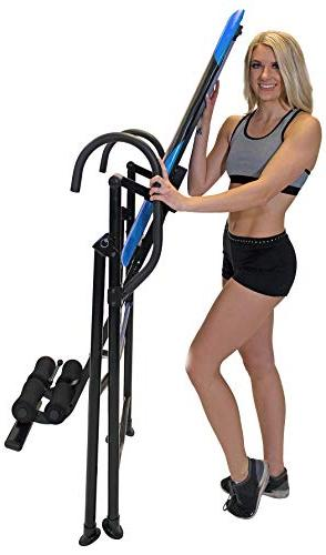 Body Vision Inversion Table with Head Lumbar Support Blue Heavy up to 250