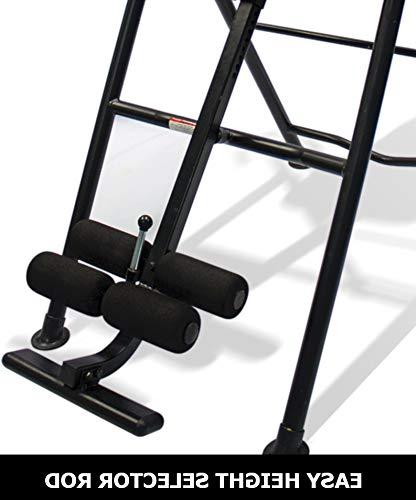 Body IT9550 Inversion with Head Pillow & Lumbar Support Heavy 250 lbs