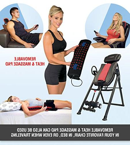 & Tall Massage Inversion Table Heavy Duty 400 lbs.