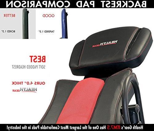 Health ITM7.5 & Heat Massage Inversion Heavy Duty up 400