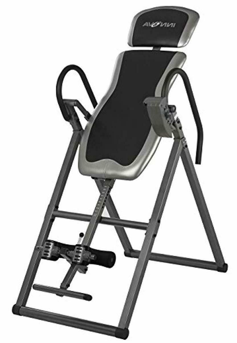 Gravity Inversion Table Fitness Back Pain Relief Exercise He