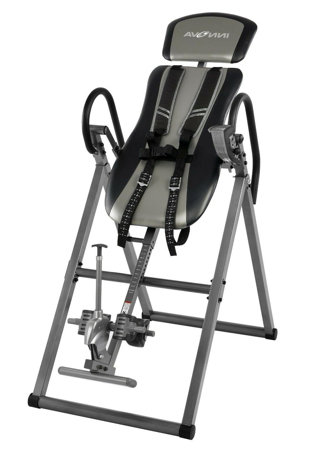itx9800 inversion table with ankle relief