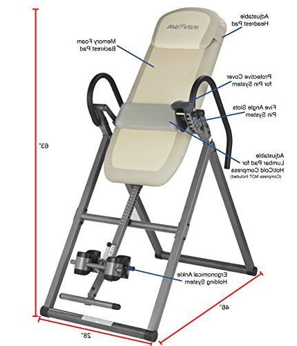 Innova Memory Foam Inversion Therapy Table