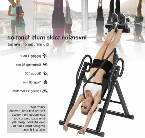 New Foldable Inversion Table Fitness