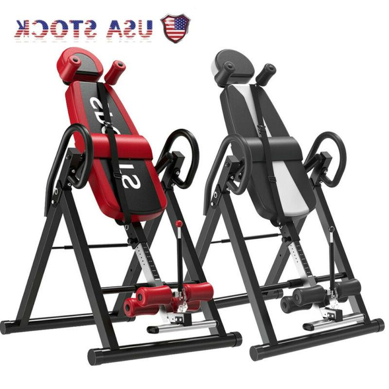 premium exercise fitness inversion table foldable curve