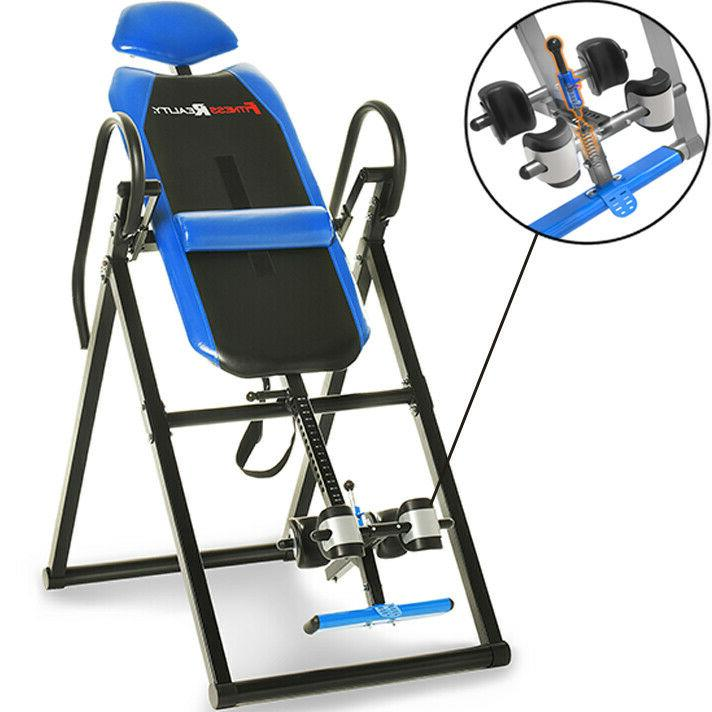 triple safety ankle locking inversion steel table